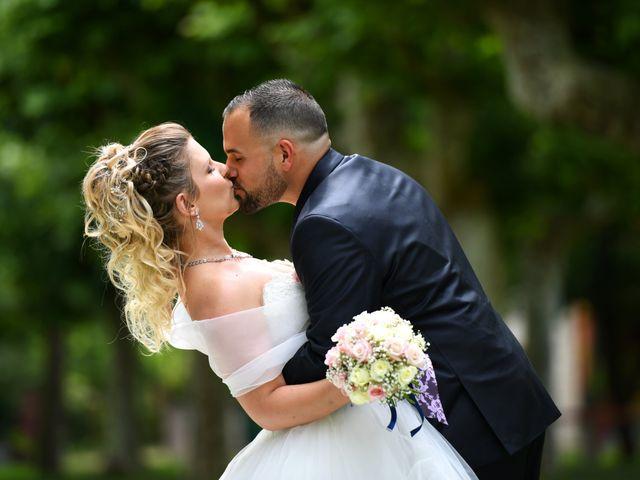 Le mariage de Kevin et Aurore à L'Abergement-Clémenciat, Ain 1