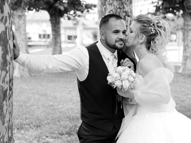 Le mariage de Kevin et Aurore à L'Abergement-Clémenciat, Ain 7