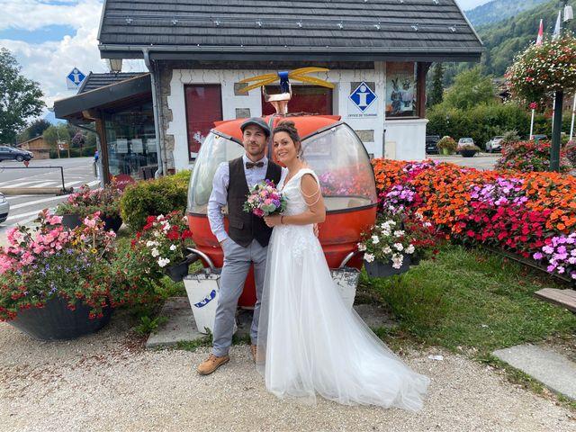 Le mariage de gui et eve à Samoëns, Haute-Savoie 22