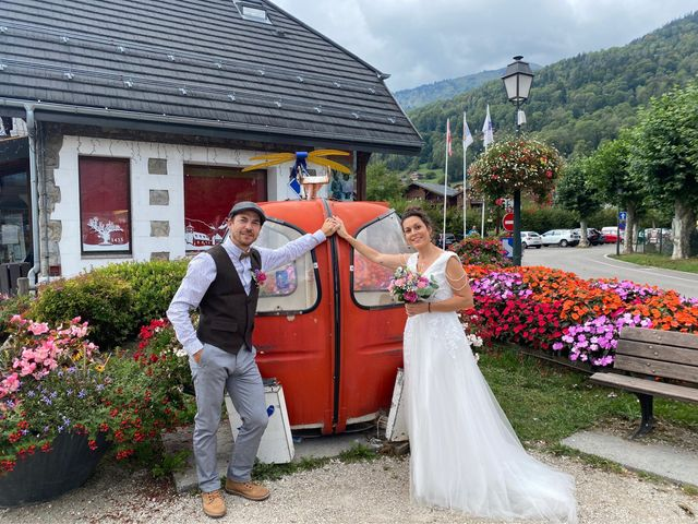Le mariage de gui et eve à Samoëns, Haute-Savoie 21