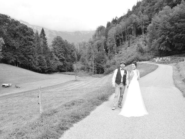 Le mariage de gui et eve à Samoëns, Haute-Savoie 2