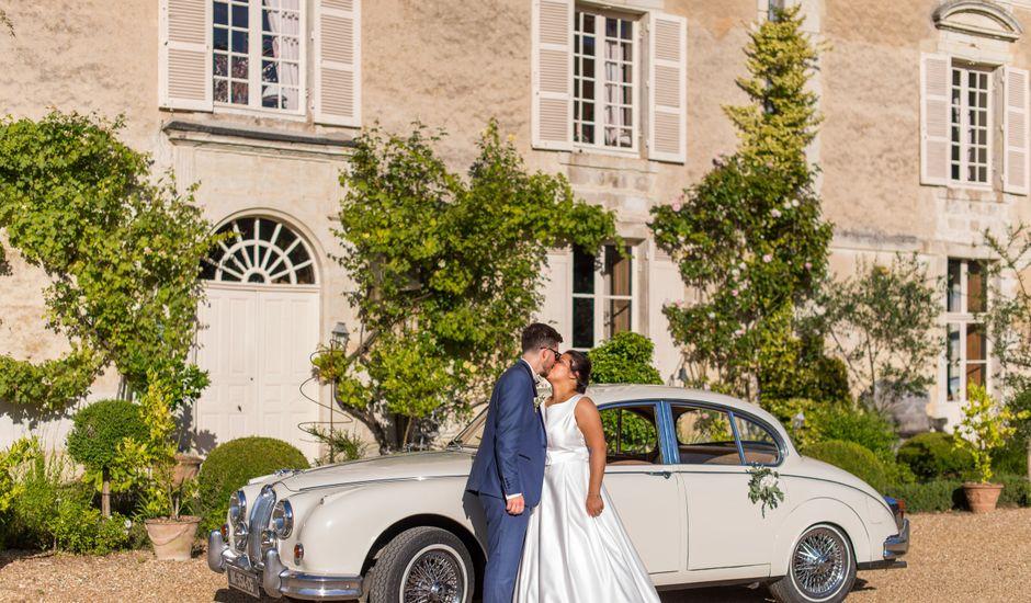 Le mariage de Charly et Clara à Écouflant, Maine et Loire