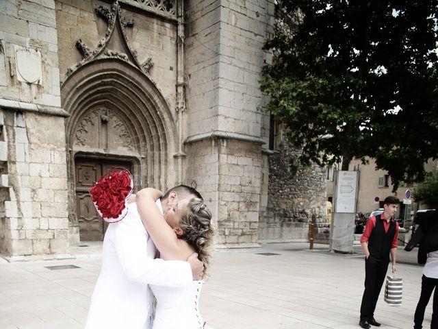 Le mariage de Christophe et Nina à Saint-Maximin-la-Sainte-Baume, Var 16