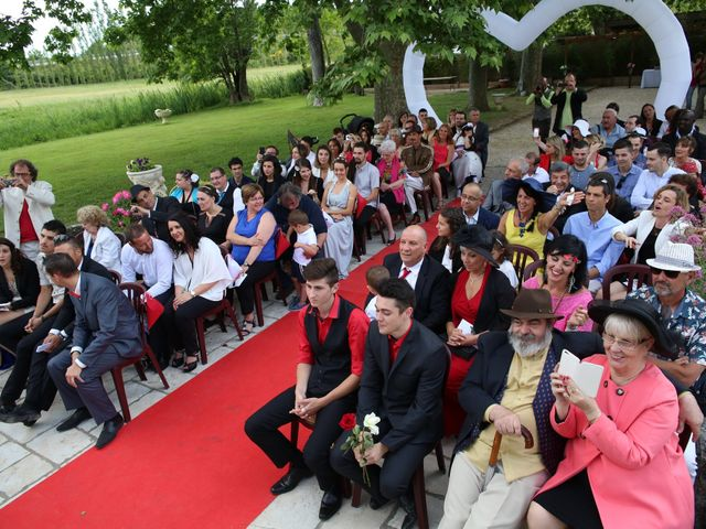 Le mariage de Christophe et Nina à Saint-Maximin-la-Sainte-Baume, Var 33