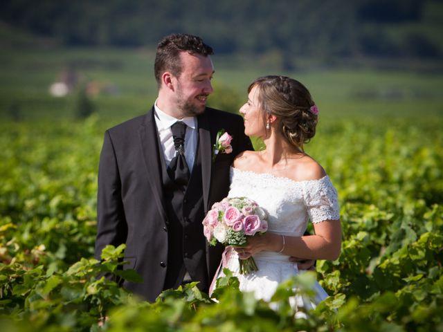Le mariage de Romain et Audrey à Gilly-lès-Cîteaux, Côte d'Or 9