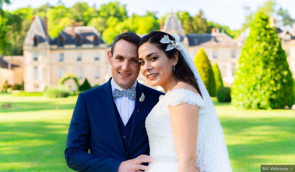 Le mariage de Aurelien et Esmeramda à Dampsmesnil, Eure
