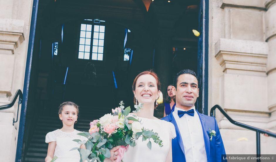 Le mariage de Ahmed et Elise à Champigny, Marne
