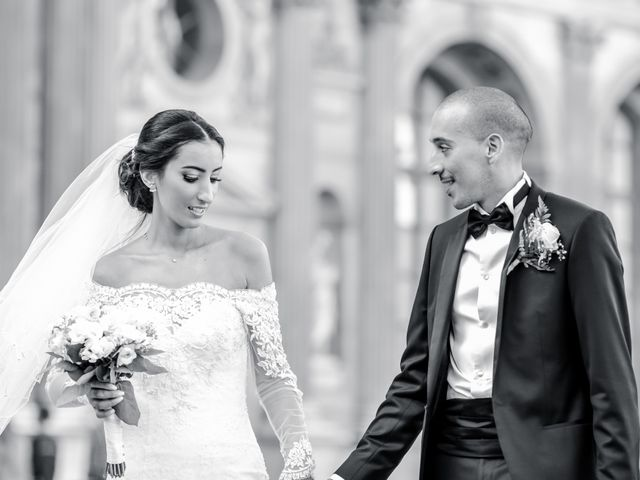 Le mariage de Sofiane et Camélia à Paris, Paris 4