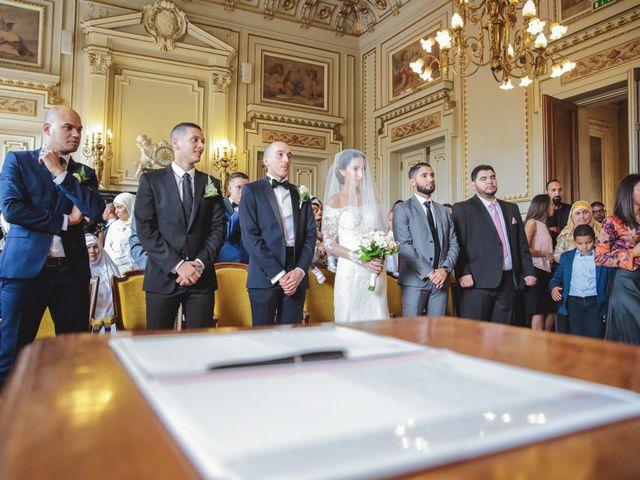 Le mariage de Sofiane et Camélia à Paris, Paris 15