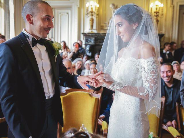 Le mariage de Sofiane et Camélia à Paris, Paris 16