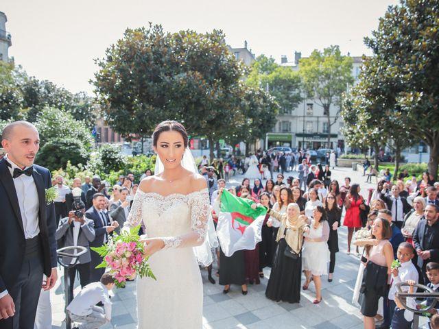 Le mariage de Sofiane et Camélia à Paris, Paris 17