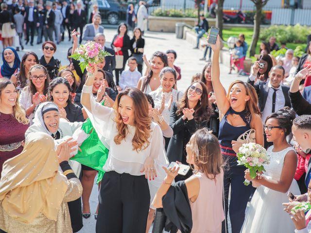 Le mariage de Sofiane et Camélia à Paris, Paris 19
