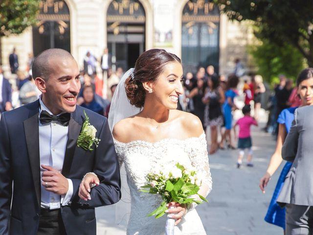 Le mariage de Sofiane et Camélia à Paris, Paris 20