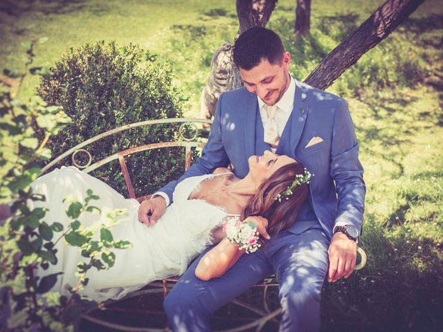 Le mariage de Grégory et Caroline à Rochefort-du-Gard, Gard 9