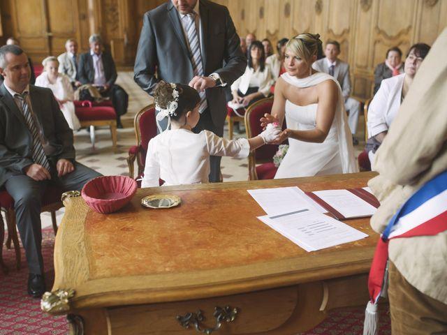 Le mariage de Jérôme et Christelle à Fleury-sur-Orne, Calvados 7