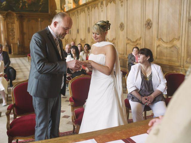 Le mariage de Jérôme et Christelle à Fleury-sur-Orne, Calvados 8