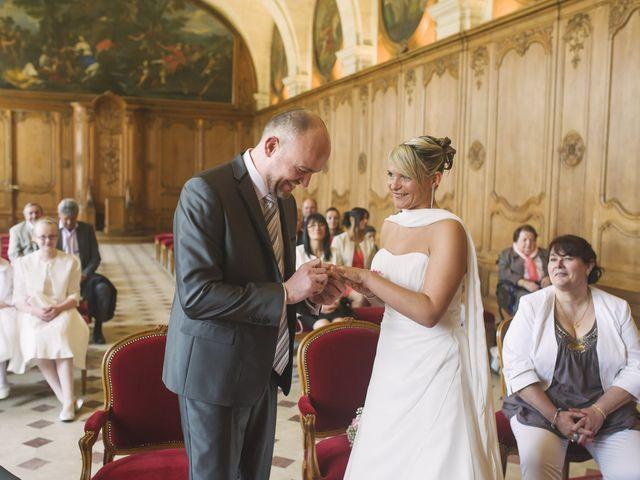 Le mariage de Jérôme et Christelle à Fleury-sur-Orne, Calvados 9
