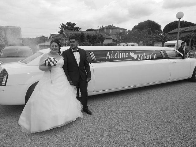 Le mariage de Zakaria et Adeline  à Saint-Paul-les-Fonts, Gard 28