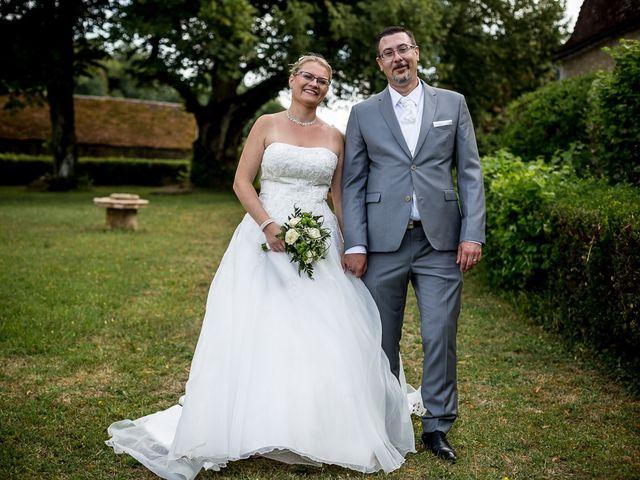 Le mariage de Jérome et Christine à Bazoches, Nièvre 21