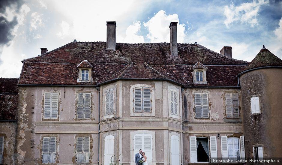 Le mariage de Jérome et Christine à Bazoches, Nièvre