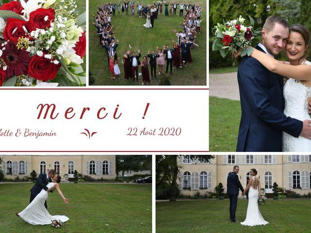 Le mariage de Benjamin et Charlotte à Saint-Martin-d'Abbat, Loiret 2