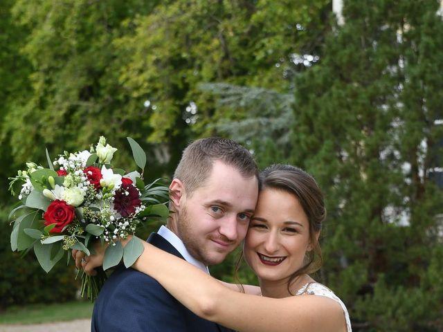 Le mariage de Benjamin et Charlotte à Saint-Martin-d'Abbat, Loiret 9