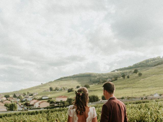 Le mariage de Loïs et Manon à Saint-Lager, Rhône 5