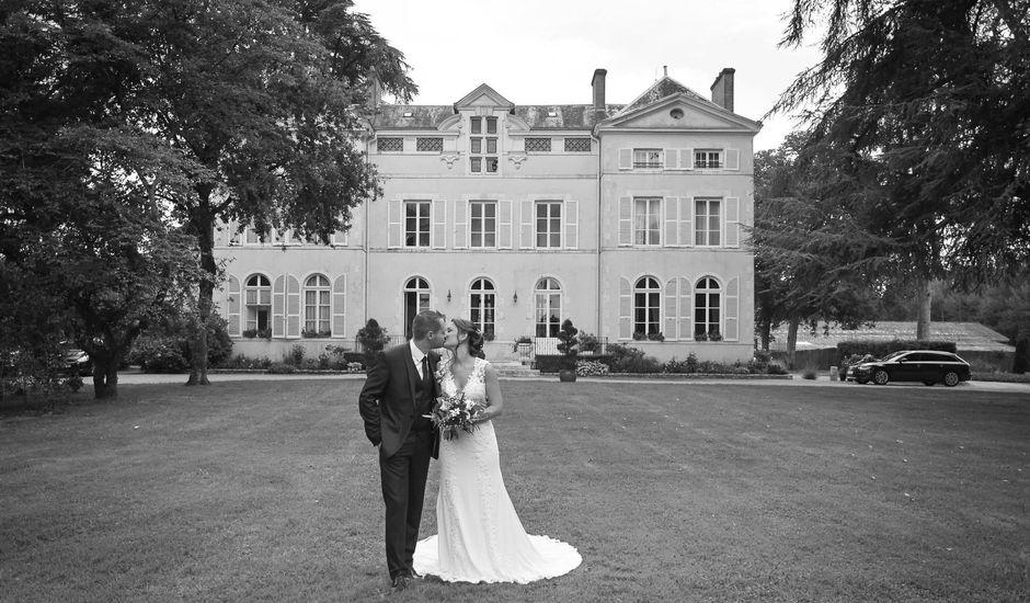 Le mariage de Benjamin et Charlotte à Saint-Martin-d'Abbat, Loiret