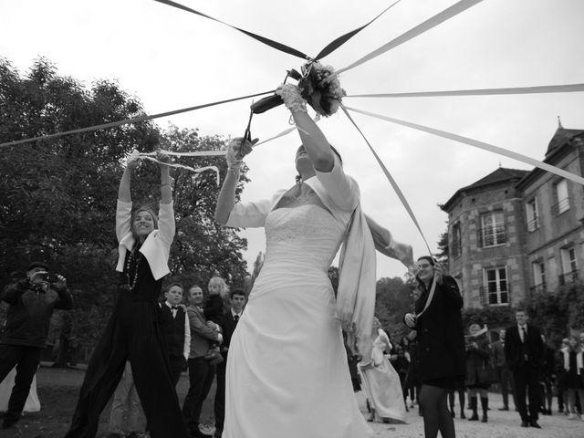 Le mariage de Xavier et Alexia à La Haye-Saint-Sylvestre, Eure 35