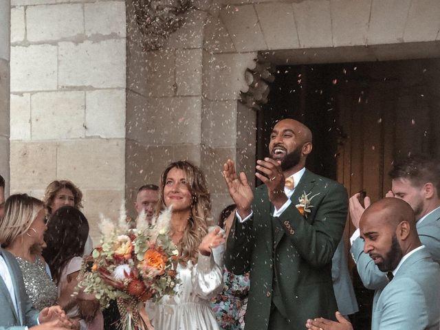 Le mariage de Dinesh  et Pandora  à Lémeré, Indre-et-Loire 8