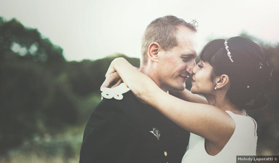 Le mariage de Daniel et Elodie à Durfort-et-Saint-Martin-de-Sossenac, Gard
