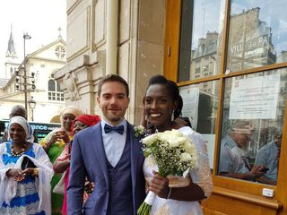 Le mariage de Fatoumata et Cyril 1