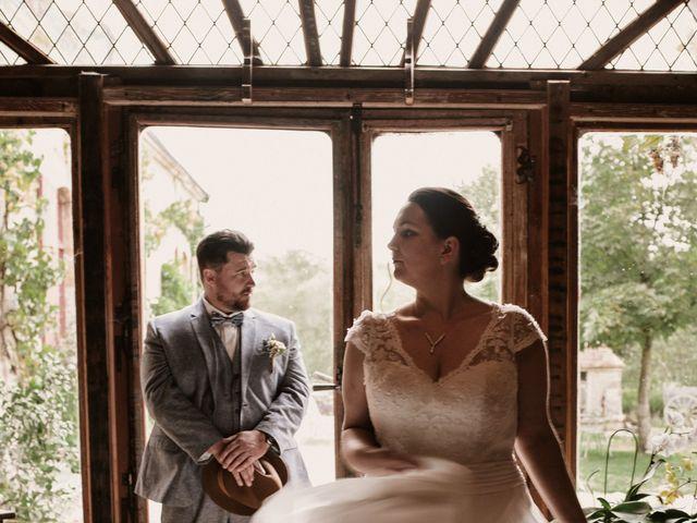 Le mariage de Steve et Angélique à La Châtre, Indre 3