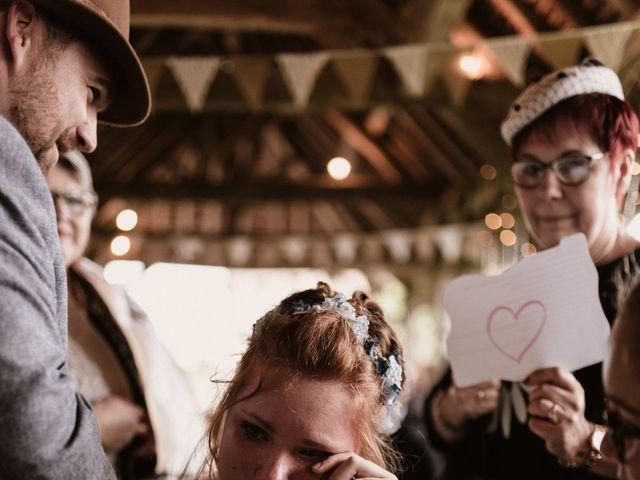Le mariage de Steve et Angélique à La Châtre, Indre 36