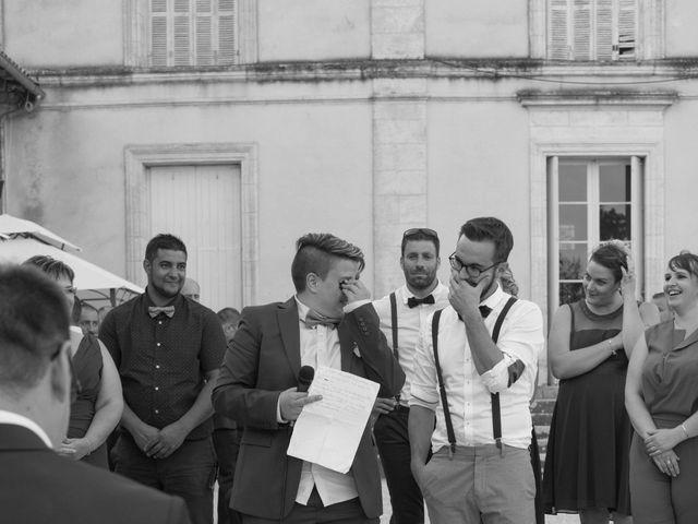 Le mariage de Jérémy et Adeline à Saint-Maxire, Deux-Sèvres 13