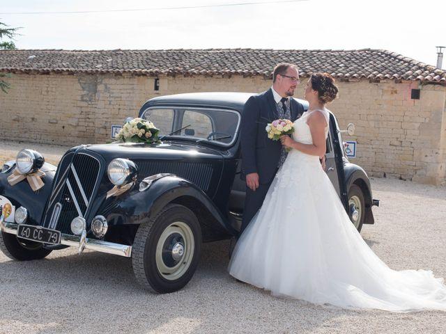 Le mariage de Jérémy et Adeline à Saint-Maxire, Deux-Sèvres 38
