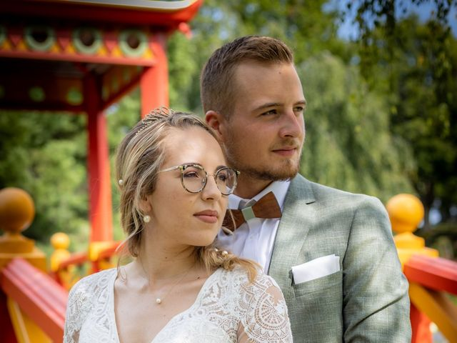 Le mariage de Raphael et Flavie à Gimouille, Nièvre 1