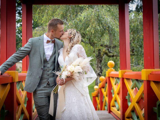 Le mariage de Raphael et Flavie à Gimouille, Nièvre 2