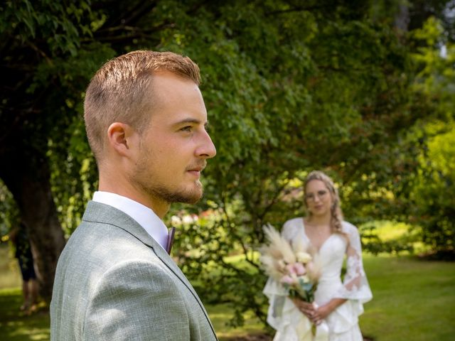 Le mariage de Raphael et Flavie à Gimouille, Nièvre 17