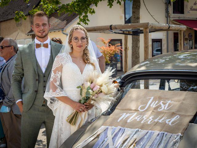 Le mariage de Raphael et Flavie à Gimouille, Nièvre 21