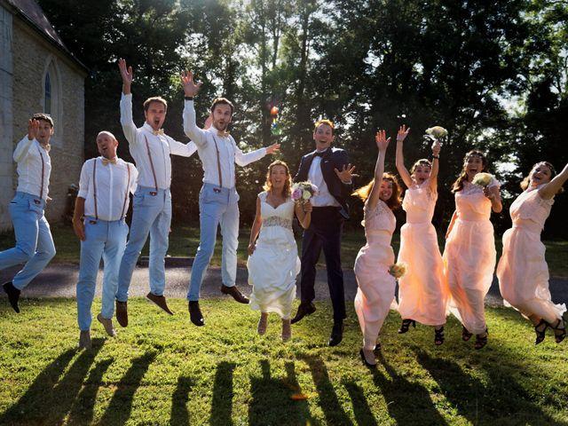 Le mariage de Benjamin et Amélie à Chamblay, Jura 21