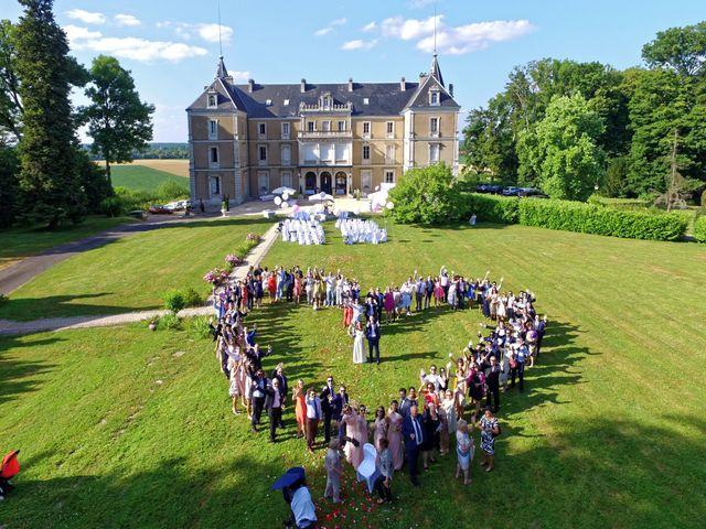 Le mariage de Benjamin et Amélie à Chamblay, Jura 22