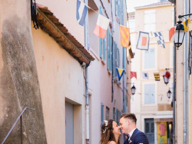 Le mariage de Alban et Emma à Saint-Tropez, Var 25