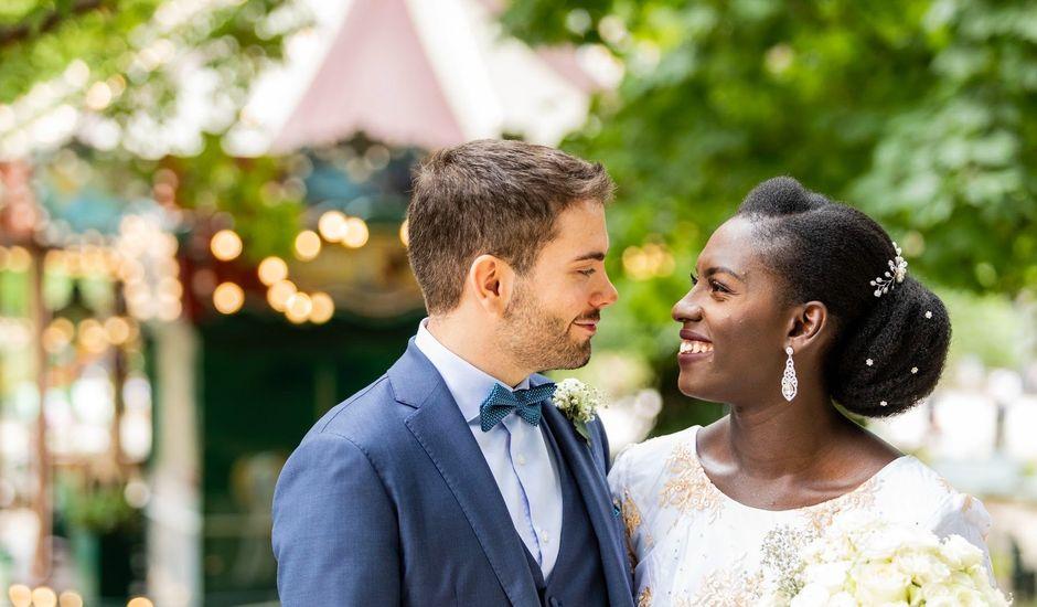 Le mariage de Cyril et Fatoumata à Paris, Paris