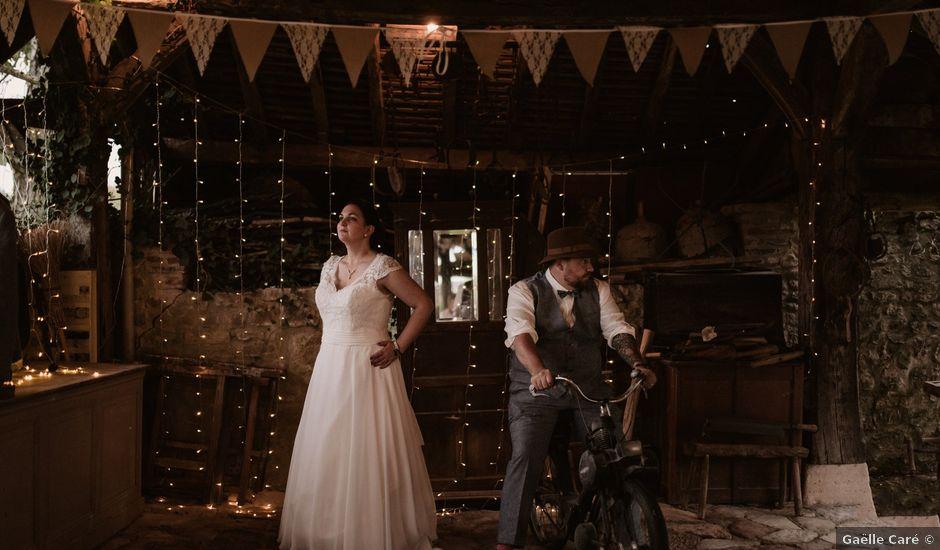 Le mariage de Steve et Angélique à La Châtre, Indre
