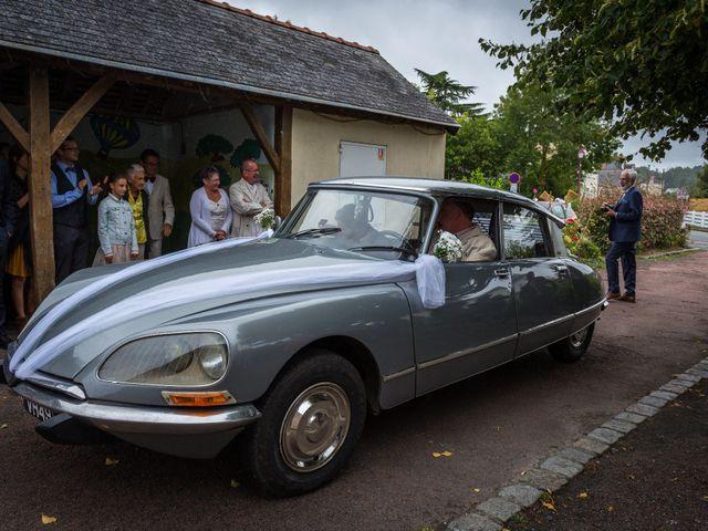 Le mariage de Simon et Aurélie à Soeurdres, Maine et Loire 1
