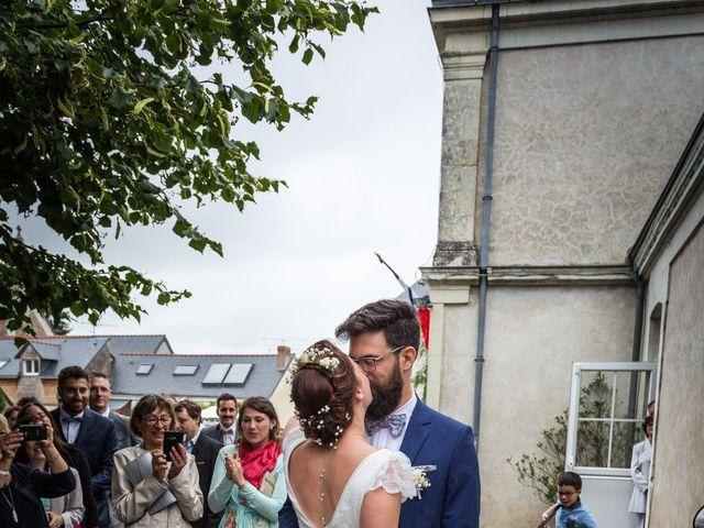 Le mariage de Simon et Aurélie à Soeurdres, Maine et Loire 3