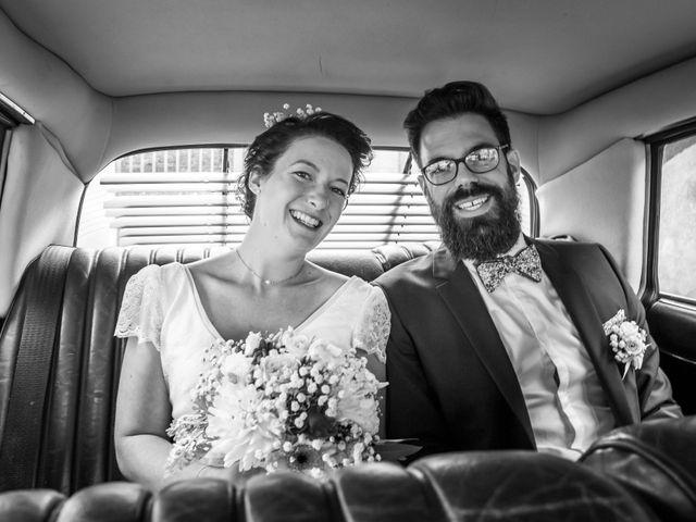 Le mariage de Simon et Aurélie à Soeurdres, Maine et Loire 7