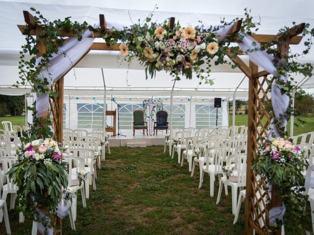 Le mariage de Simon et Aurélie à Soeurdres, Maine et Loire 11