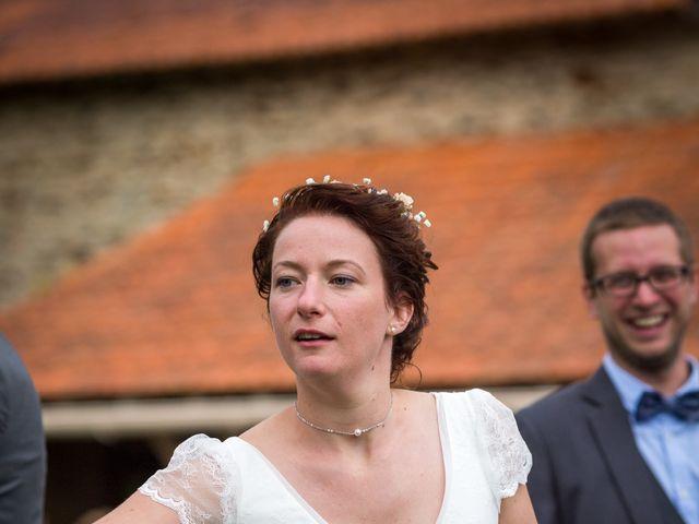 Le mariage de Simon et Aurélie à Soeurdres, Maine et Loire 12